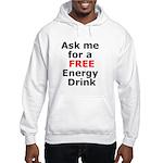 Free Energy Drink Hooded Sweatshirt