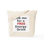 Free Energy Drink Tote Bag