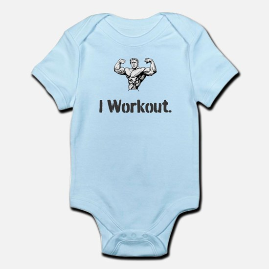 I workout 2 Body Suit