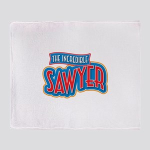 The Incredible Sawyer Throw Blanket