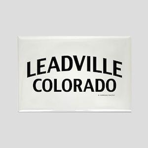Leadville Colorado Rectangle Magnet