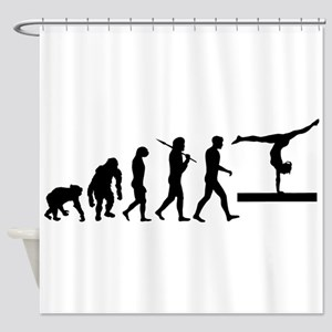 Beam Gymnast Shower Curtain
