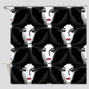 Riyah-Li Designs Afro Shower Curtain
