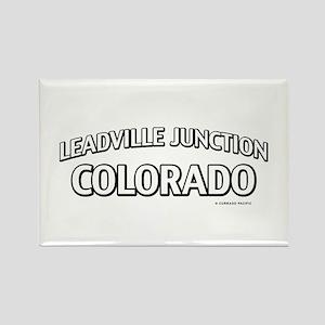 Leadville Junction Colorado Rectangle Magnet