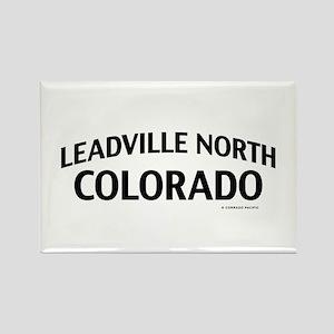 Leadville North Colorado Rectangle Magnet