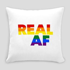 Real AF Gay Pride Everyday Pillow