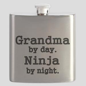 Grandma by day Flask