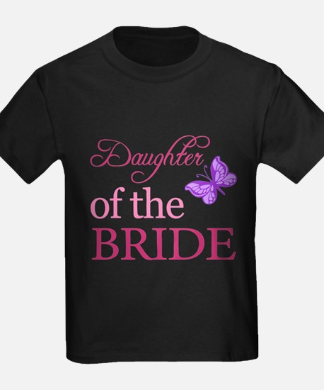 Daughter Of The Bride (Butterfly) T-Shirt