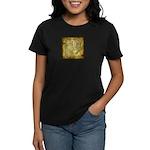 Celtic Letter P Women's Dark T-Shirt