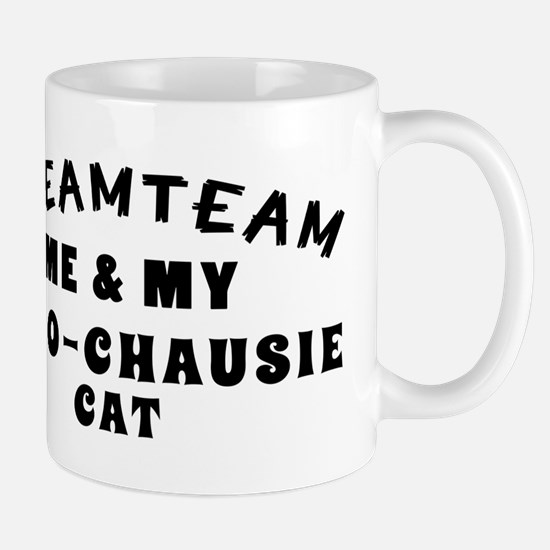 Afro-Chausie Cat Designs Mug