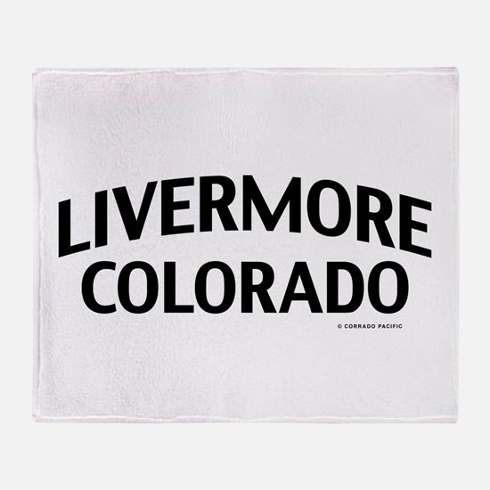 Livermore Colorado Throw Blanket