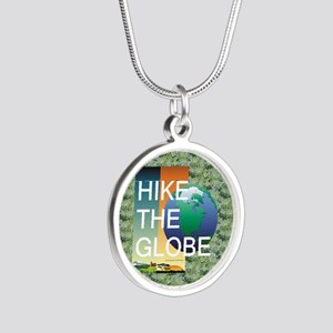 TOP Hiking Slogan Silver Round Necklace