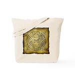 Celtic Letter O Tote Bag