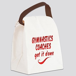Gymnastics Coaches Canvas Lunch Bag