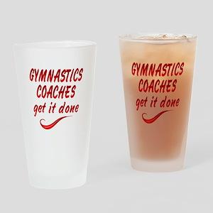 Gymnastics Coaches Drinking Glass