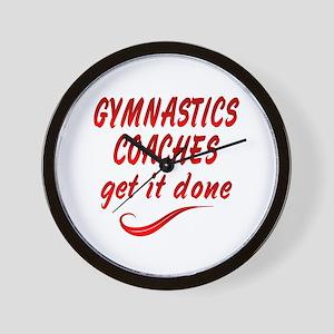 Gymnastics Coaches Wall Clock