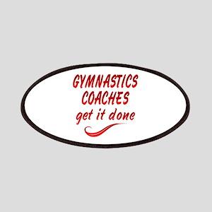 Gymnastics Coaches Patches