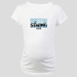 Boston Strong Skyline Maternity T-Shirt