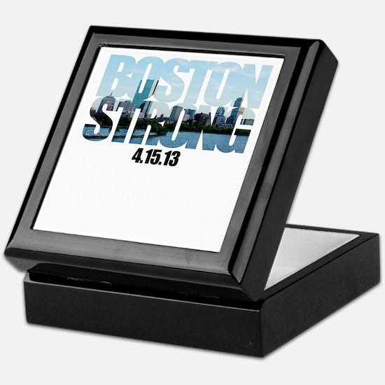 Boston Strong Skyline Keepsake Box