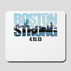 Boston Strong Skyline Mousepad