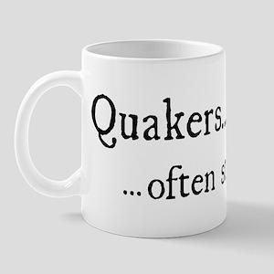 sometimes shaken Mug