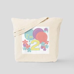 2nd Pastel Birthday Tote Bag