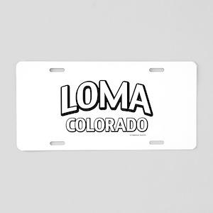 Loma Colorado Aluminum License Plate