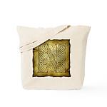 Celtic Letter N Tote Bag