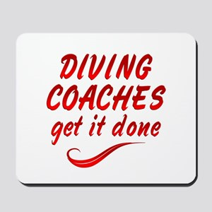 Diving Coaches Mousepad
