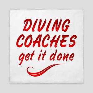 Diving Coaches Queen Duvet
