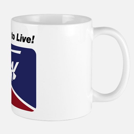 Learn To Fly . . . Live! Mug