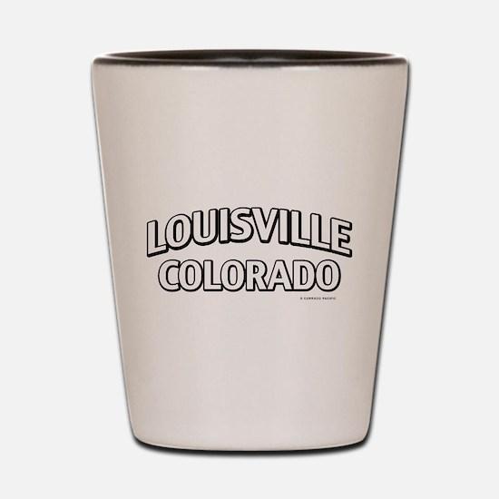 Louisville Colorado Shot Glass