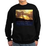 The heavens declare... Sweatshirt (dark)