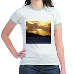 The heavens declare... Jr. Ringer T-Shirt