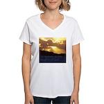 The heavens declare... Women's V-Neck T-Shirt