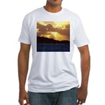 The heavens declare... Fitted T-Shirt