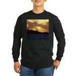The heavens declare... Long Sleeve Dark T-Shirt