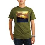 The heavens declare... Organic Men's T-Shirt (dark