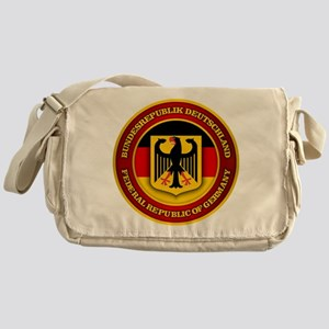 German Emblem Messenger Bag