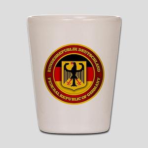 German Emblem Shot Glass