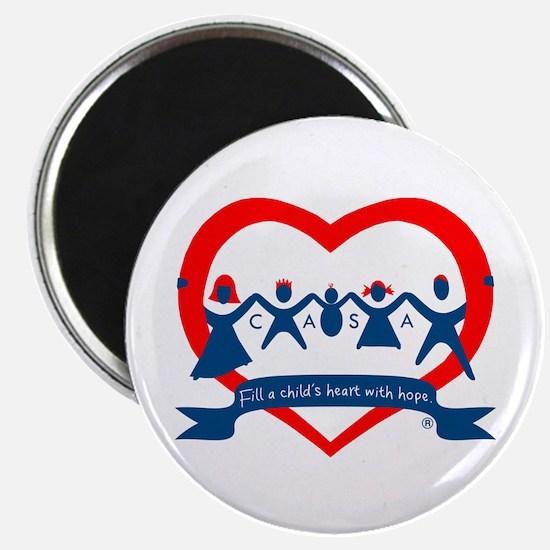 Delaware County CASA Logo Magnet