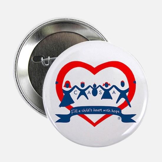 """Delaware County CASA Logo 2.25"""" Button"""