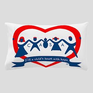 Delaware County CASA Logo Pillow Case