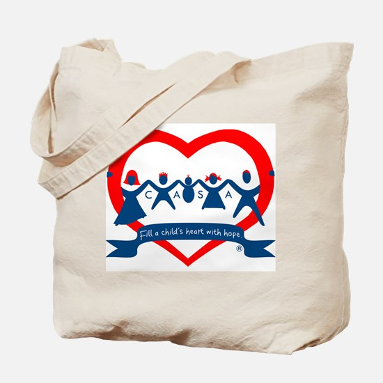 Delaware County CASA Logo Tote Bag