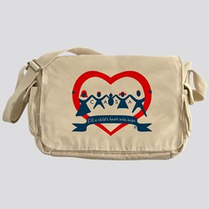 Delaware County CASA Logo Messenger Bag