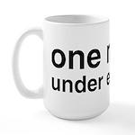 One Nation Under Educated Large Mug