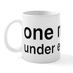 One Nation Under Educated Mug