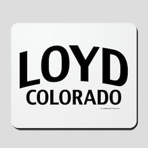 Loyd Colorado Mousepad