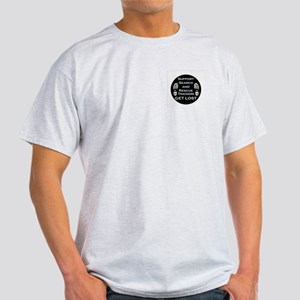 Support SAR Trackers Ash Grey T-Shirt