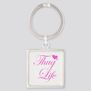 Baby Girl THUG LIFE Keychains